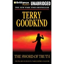 The Sword of Truth, Boxed Set III, Books 7-9: The Pillars of Creation, Naked Empire, Chainfire by Terry Goodkind (October 01,2011)