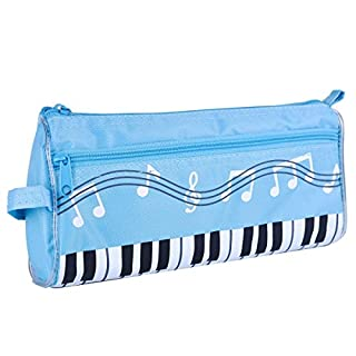 Multifunctional Pencil Case Cosmetic Makeup Bag, Cute Large Storage Bag (Sky Blue)