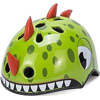 Asvert Catoon Kids Cycling Helmet Adjustable Headband Lightweight Multi-Sport Mountain Road Safety Children's Helmet Helmet For Bike/Skateboard / Scooter / Skating / Roller Blading Protective Gear Suitable 3-14 Years Old Boys And Girls