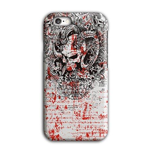 Schädel schaurig Böse Horror Monster Rage iPhone 6 / 6S Hülle | (Mumie Kostüme Monster)