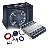 MAC AUDIO Basspaket 2-Kanal Endstufe/Verstärker+30cm Subwoofer+Kabel-Set - 1200W / MPExclusive 2.0 + Destroyer JK 3000 + REN10KIT
