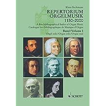 Repertorium Orgelmusik 1150-2000, Tl.1, Orgel solo