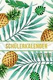 Schülerkalender 2017 2018: Schülerplaner im kompakten Taschenbuch-Format