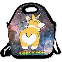 Corgicorn Corgi Tragbare Lunch-Tasche, wiederverwendbar, Picknick-Boxen, für Kinder und Erwachsene preisvergleich bei kinderzimmerdekopreise.eu