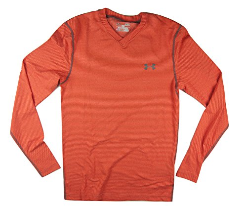 Under Armour Coldgear® Infrared – v-neck Shirt Volcano