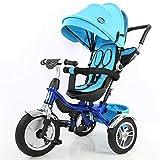Little Bambino Tricycle 4 en 1 avec Pare-Soleil pour Jeunes Enfants âgés de 1 à 6...