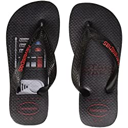 Havaianas Star Wars, Chanclas para Unisex Niños, Multicolor (Black), 25/26 EU (23/24 Brazilian)