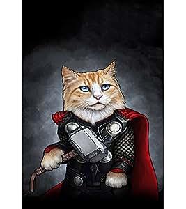 EPICCASE Superhero cat Mobile Back Case Cover For LG G3 Stylus (Designer Case)