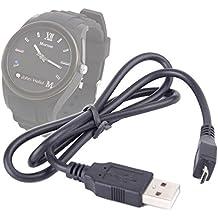 DURAGADGET Câble de transfert de données USB - synchronisation pour montre connectée Martian Notifier, Martian Guess Connect et Lenovo VIBE Band VB10 - Kidizoom - Smart Watch