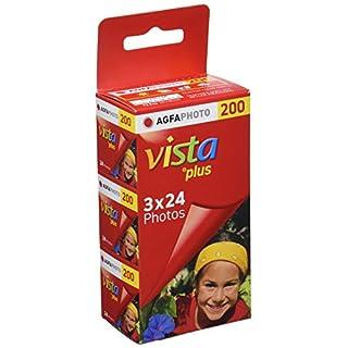 AgfaPhoto 632240 Vista Plus 200 135/24 Film (Pack of 3)