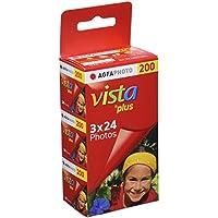 AgfaPhoto Vista plus 200 135-24 Color Negative Film 3er Pack