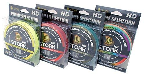 Stork HD, 4-corde ligne de pêche tressée 300m