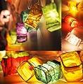 Chinesischen Lampion LED Lichterkette Von flowerglow - Energieeffiziente, warm-weiße LED Leuchten mit einer Lebensspanne von 50,000 Stunden von Flowerglow - Lampenhans.de