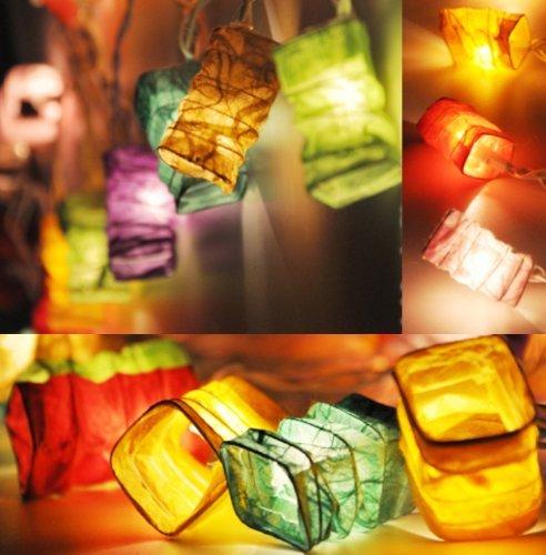 Chinesische Lampion LED Lichterkette