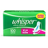 Whisper Ultra Plus Sanitary Pads XL Plus (30 Count)
