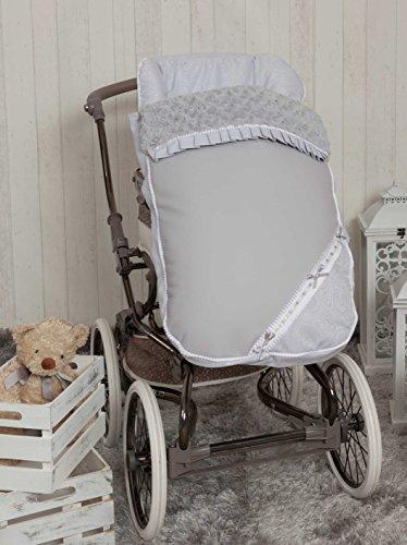 Babyline Bombón - Saco de silla de paseo, color gris