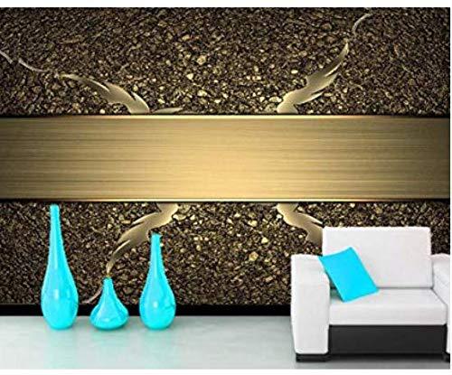 Yosot Textur Farbe Gold 3D Tapeten Wohnzimmer Fernseher Sofa Wand Schlafzimmer Tapeten Home Decor Cafe Ktv Bar Wandmalereien-620x250cm