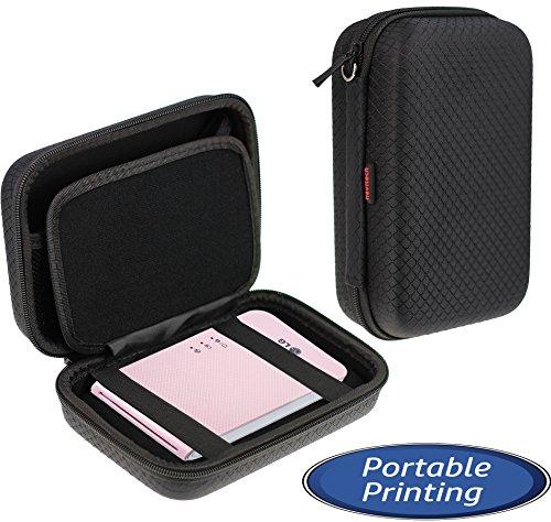 """Navitech schwarz Gehäuse für die Kodak Mini Mobile Wi-Fi & NFC 2.1 x 3.4"""" Photo Printer"""