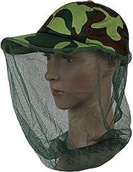 Noorsk Casquette de camouflage avec moustiquaire