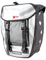 Foxline - Bolsa trasera para bicicleta multicolor negro / gris Talla:335 x 16 x 60 cm