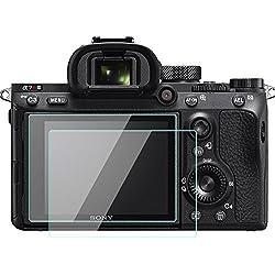 Lot de 2protections d'écran LCD en verre trempé - Sony Alpha A7R III / A7R II / A7R3 / A7R2 - Pour Sony Alpha A7R Mark III / II