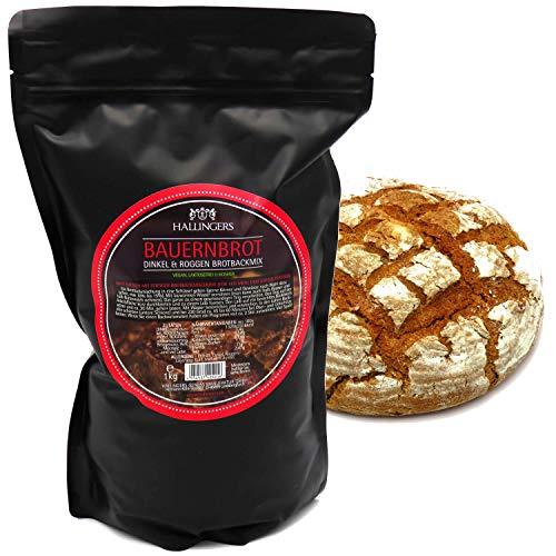Hallingers Natürliche Brotbackmischung (1.000g) -...