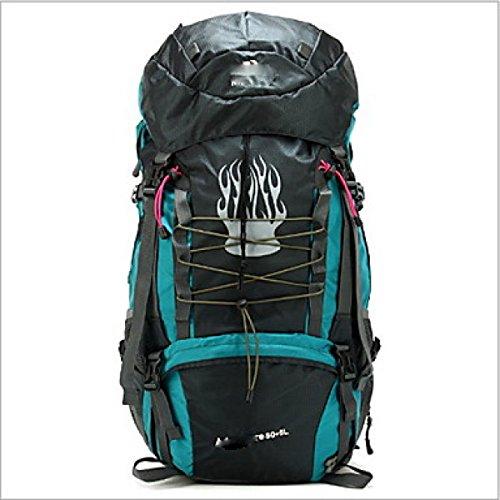 80 L Rucksack Camping Randonnée étanche Zipper Multifonctionnel Nylon