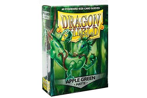 Arcane Tinmen ApS ART11218 - Dragon Shield Matte, apfelgrün, 60 Stück (Dragon Shield Sleeves Green)