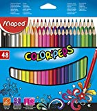 Maped 832048 Dreikant-Buntstift COLOR'PEPS, 48er Kartonetui