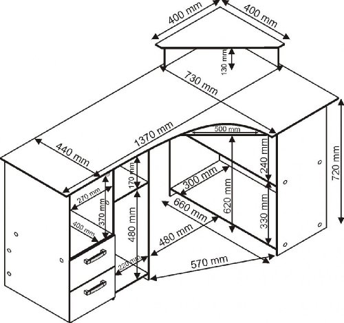 schreibtisch ber eck wei bestseller shop f r m bel und. Black Bedroom Furniture Sets. Home Design Ideas