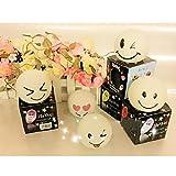 Geschenkidee Witzige Ostergeschenke - VENI MASEE Geschenk-Idee! LED Lächeln abgeflachte Kugel Farbwechsel Nachtlicht, LED-Kerze, Random Art von Eindrücken