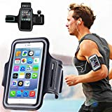 Zuffon Sports Running Jogging Gym Armband Case Cover Holder for All Smart Phones