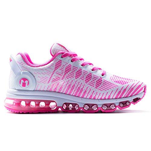 ONEMIX Sneakers Basses Baskets mode Chaussures de Sport Homme femme pink