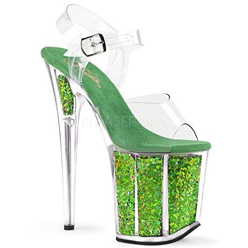 GF CLR/Green Multi Glitter UK 6 (EU 39) ()