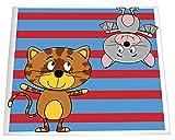 Daiber Kindergarten-Fotomappen Motiv, Katze-Fledermaus für Fotos im Format 13 x 18 cm, 25 Stück