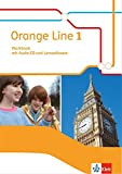 Orange Line 1: Workbook mit Audio-CD und Lernsoftware Klasse 5 (Orange Line. Ausgabe ab 2014)