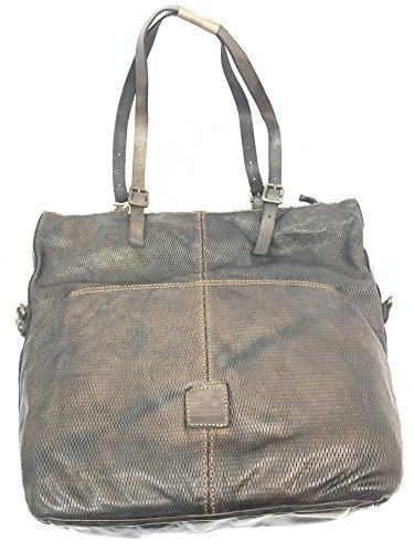 Shopping in pelle CAMPOMAGGI mod C4601 Grey