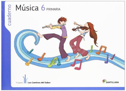 Cuaderno música 6 primaria