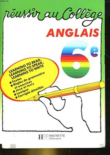 Anglais, 6e