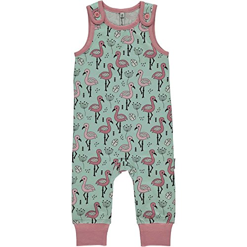 Maxomorra Baby Playsuit SWEET FLAMINGO 86/92