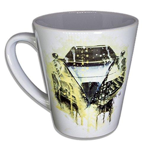 Alfa - Unikat Handarbeit Designer Tasse aus brillanten Porzellan - Tasse, Becher, Kaffeetasse,...