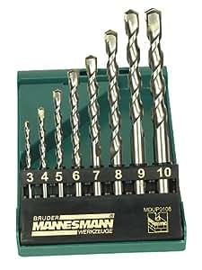 Mannesmann Profi-Steinbohrersatz, 8-tlg., M54309