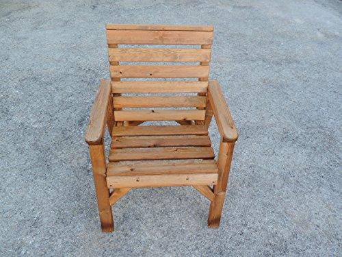Sedie Schienale Alto Legno : Schienale alto sedia da giardino in legno resistente super
