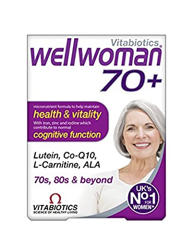 Wellwoman Tablets 70 Plus - Pack of 30 Tablets