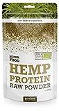 Proteine   di canapa bio, proteine   di canapa cruda in polvere, senza additivi - ideali per vegetariani | 200g | Purasana