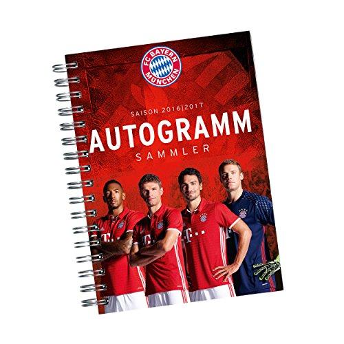 Autogrammsammler FC Bayern München FCB + gratis Aufkleber - Autogramm / Autogrammkarten / Karten /
