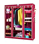 CbeeSo! The No1 Portable Wardrobe in India, brings to you a big size metal frame collapsible wardrobe. It's a premium quality indian made wardrobe with 10+ years durability on normal usage and 2 years Warranty. It is designed to occupy a large storag...