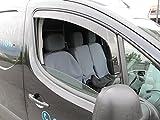 Citroen Berlingo 2008 onwards Wind Deflectors / Rain Shields INTERNAL FIT (06027)