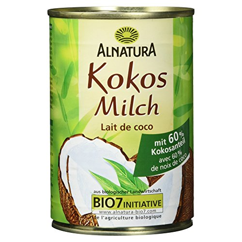 Alnatura Bio Kokosmilch (1 x 400 ml) Test