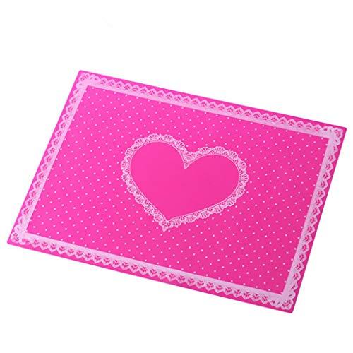 Nail Armauflagen, weiche Hand-Kunst-Maniküre faltbare Wasserdicht Wear-Resistant Kissen-Nagel-Kissentisch stehen Station für die Nägel Home Use,Rosa
